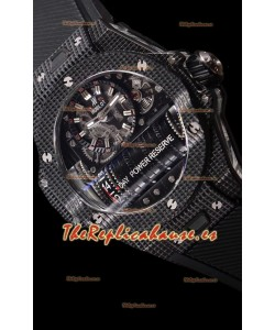 Hublot Big Bang MP-11 Power Reserve 3D Carbon Reloj Réplica Suizo