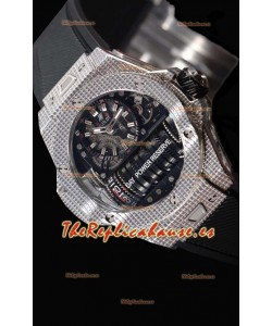 Hublot Big Bang MP-11 Power Reserve 3D Reloj Réplica de Acero