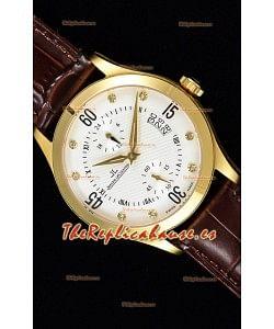 Jaeger LeCoultre Master Control Reloj Réplica Suizo Oro Amarillo