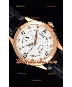 Jaeger LeCoultre Master Control Reloj Réplica Suizo Oro Rosado