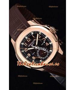Patek Philippe Aquanaut 5164R Reloj a Espejo 1:1 Dial Marrón