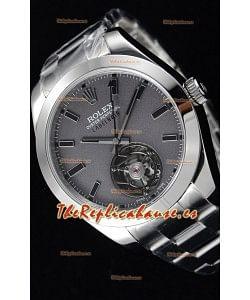 Rolex Milgauss LABELNOIR Tourbillon Reloj Réplica Suizo Caja de Acero