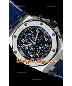 "Audemars Piguet Royal Oak Offshore Chronograph ""The Real Batman""  Reloj de Acero 904L Réplica a Espejo 1:1"