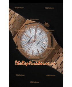Audemars Piguet Royal Oak 42MM Reloj en Oro Rosado - Movimiento 3120 escala 1:1