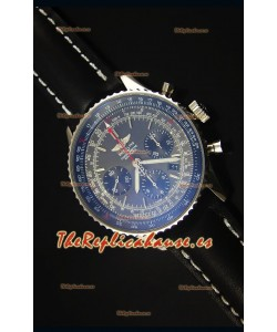 Breitling Navitimer 01 Dial Gris Caja en Acero Reloj Replica Suizo a espejo 1:1