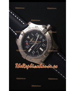 Breitling Avenger II Seawolf Black Dial 45MM - 1:1 Mirror Replica Watch