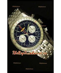 Breitling Navitimer 01 Reloj replica Suizo a Escala 1:1 Actualizado a 2017, Dial Azul