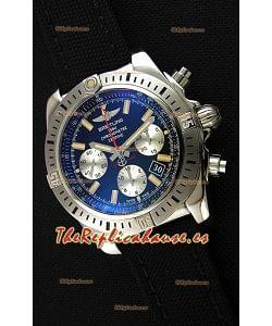 Breitling Chronomat Airborne Dial Negro Reloj Réplica a Espejo 1:1