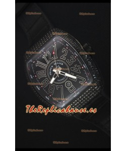 Franck Muller Vanguard Reloj Repolica Suizo, Caja con revestimiento PVD