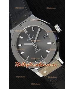 Hublot Big Bang Classic Fusion 38MM Reloj Réplica a Espejo 1:1 Dial Gris