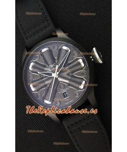 IWC Pilot Top Gun Concept Edition Reloj Réplica con Caja en Revestimiento PVD 45.5MM