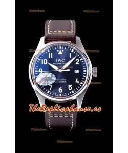 IWC Pilot's MARK XVIII IW327010 Dial de Acero color Azul Le Petit Prince Reloj Réplica a Espejo 1: Acero 904L