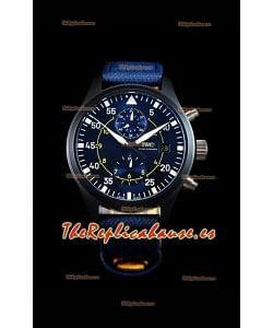 IWC Pilot's Chronograph IW389008 Blue Angels Edition Reloj Réplica a Espejo 1:1