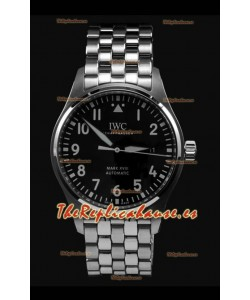 IWC MARK XVIII Reloj Réplica Suizo con Dial color Negro en Acero 904L - Réplica a Espejo 1:1