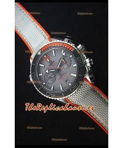 Omega Seamaster Planet Ocean 600M Master Último Reloj Replica Cronógrafo a Espejo 1:1