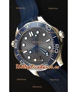 Omega Seamaster 300M Co-Axial Master Chronometer GRIS Reloj Réplica Suizo a Espejo 1:1