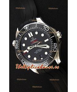 Omega Seamaster 300M Co-Axial Master Chronometer NEGRO Reloj Réplica Suizo a Espejo 1:1