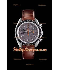 Omega Speedmaster Racing Co-Axial Master Chronograph Reloj Réplica Suizo Dial Gris