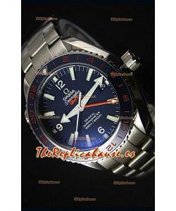 Omega Seamaster Planet Ocean 600M GMT GoodPlanet Reloj Replica Escala 1:1