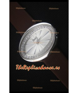 Piaget Limelight Magic Hour Reloj de Cuarzo Suizo Caja en Acero con Correa Negra