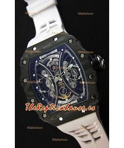 Richard Mille RM53-01 Pablo Mac Donough Caja de Carbón Forjado Reloj Réplica Suizo