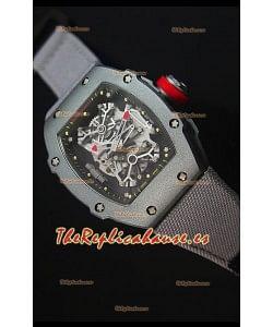 Richard Mille RM027 Tourbillon Reloj Suizo Edición Rafael Nadal Caja en Titanio