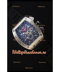 Richard Mille RM011 Reloj Replica versión Japonés Caja en Acero Inoxidable