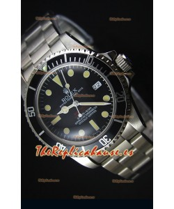 Rolex Sea Dweller Double Red 1665 Edición Reloj con Movimiento Japonés