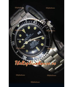Rolex Sea Dweller Submariner 2000 Estilo Vintage Reloj Replica Suizo