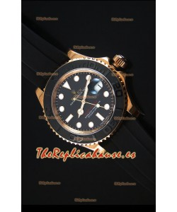 Rolex Yachtmaster 116655 Everose Gold Reloj Replica escala 1:1 en Cerámica