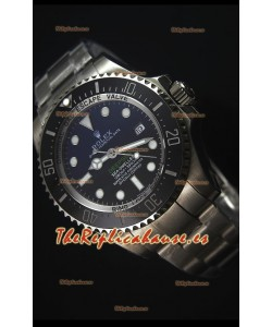 Rolex Sea-Dweller Deepsea Blue 116660 Reloj Suizo Mejor Edición de 2017 a Espejo 1:1