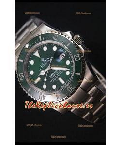 Rolex Submariner 116610 Green Ceramic - Reloj Replica Suizo La mejor y última Edición de 2017