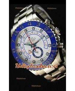 Rolex Yachtmaster II Ref.116680 Reloj Replica 1:1 de Acero Inoxidable (Edición donde funciona el Cronógrafo)
