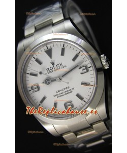 Rolex Explorer I 214270 Dial Blanco - La mejor réplica suiza de la última edición del reloj
