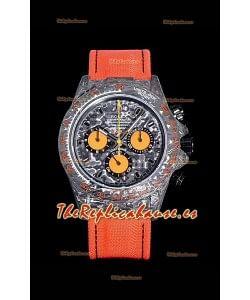 Rolex Daytona DIW Caja de Carbono Forjado, Reloj Réplica a Espejo 1:1 Dial de Carbono Negro