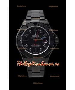 Rolex Yachtmaster Blackout Edition Reloj Réplica Suizo 1:1