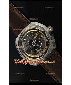 SevenFriday V02-01 Movimiento Miyota 82S7 Edición 1:1 Oro/Dial Marrón