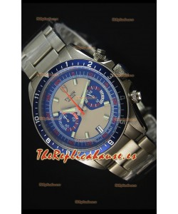 Tudor Heritage Chrono Blue Reloj Replica Suizo a espejo 1:1 REF# 70330B