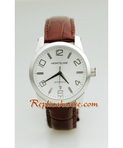 Mont Blanc Réplica Timewalker - Leather Reloj
