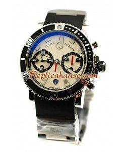 Ulysse Nardin Maxi Marine Diver Cronógrafo Reloj Suizo