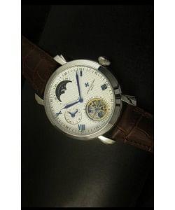 Vacheron Constantin Reloj Tourbillon con Fase Lunar, de Movimiento Japonés