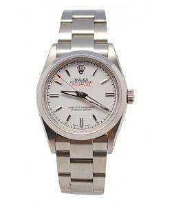 Rolex Milgauss Reproducción Reloj Suizo - 40MM Esfera Blanco Apagado
