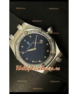Audemars Piguet Royal Oak, Reloj de mujer, réplica de Cuarzo, caja en acero inoxidable