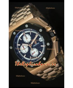 Audemars Piguet Royal Oak Offshore Reloj con Caja en Oro Rosado