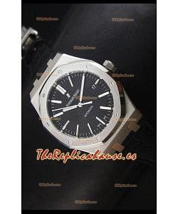 Audemars Piguet Royal Oak 41MM Reloj con Correa de Piel - Movimiento 3120 Ultimate 1:1