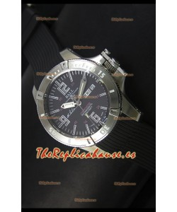 Ball Hydrocarbon Spacemaster Reloj Automático Day Date Correa de Goma con Dial Negro - Movimiento Citizen Original