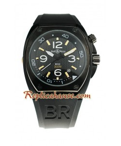 Bell and Ross BR 02 Carbon Reloj Réplica
