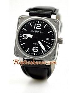 Bell and Ross BR01-97 Edición Reloj de imitación - Tamaño Medio