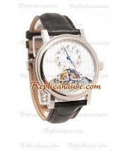 Breguet Grye Complication Tourbillon Co Axial Reloj Suizo de imitación