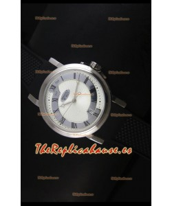 Breguet 4927 Reloj Réplica Suizo de Acero Inoxidable en Dial Blanco
